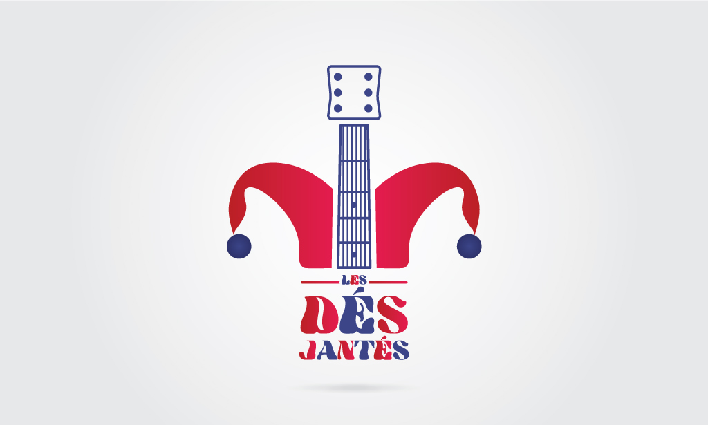 Visuel Logo Les Dés Jantés - Secteur musique - 2018