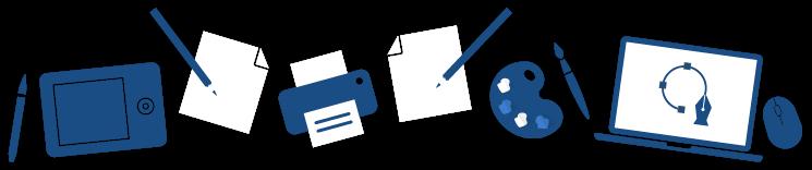 Illustration boîte à outils
